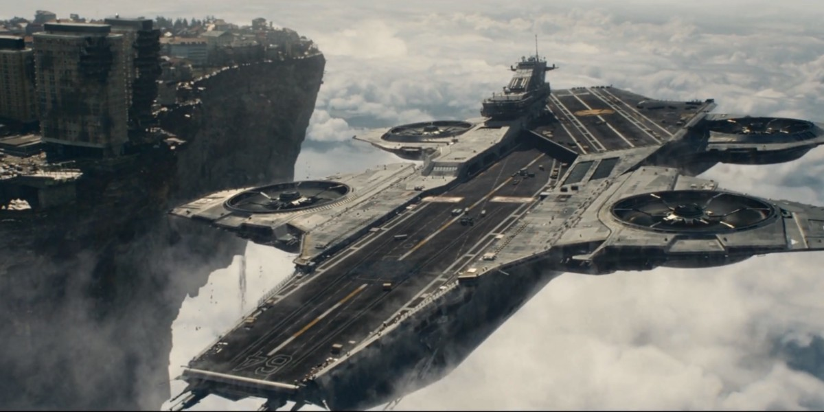 Of Flying Helicarriers and the Depressing State of Technology